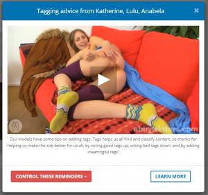 tagging advice